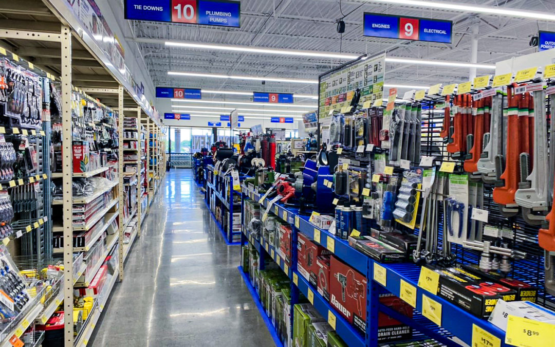 Harbor Freight Tenant Fit-Out